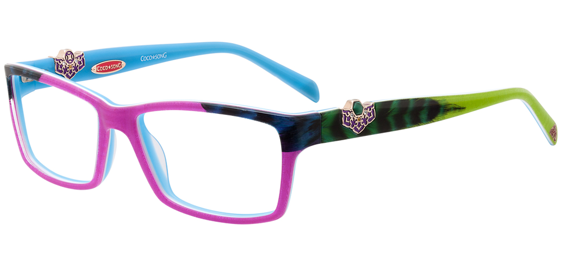 coco song eyewear collection is rich in traditional